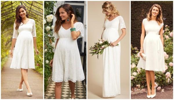 modelos de vestido de noiva gestante para casamento civil