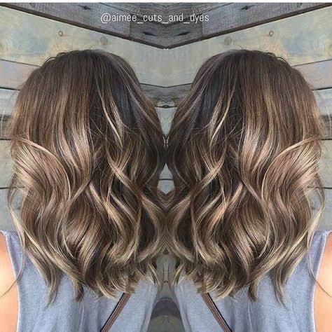 Balaiagem em cabelo curto35