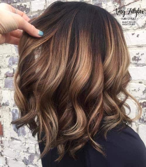 Balaiagem em cabelo curto40