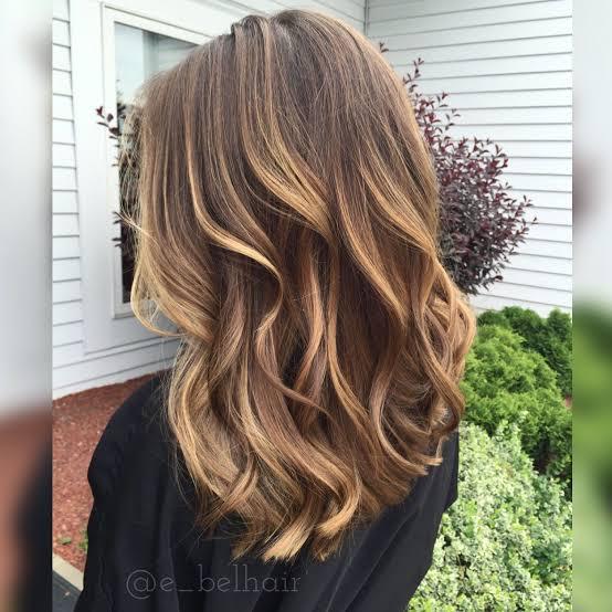Balaiagem mel em cabelo curto15