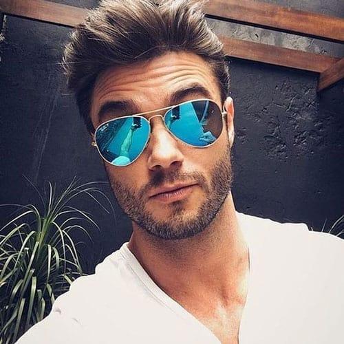 Barba por Fazer estilosa