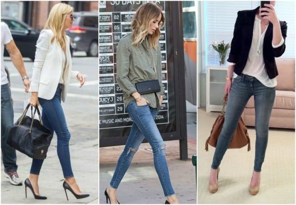 Calça jeans pode ser mesclada com peças em alfaiataria e camisas