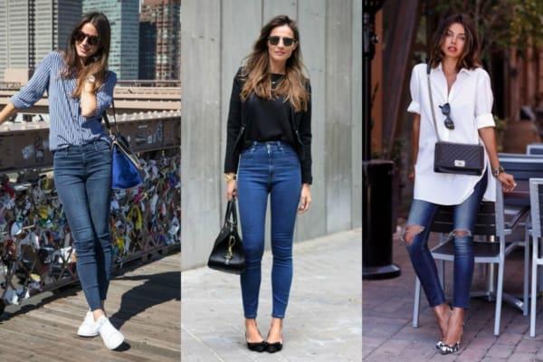 Calças jeans realmente combinam com tudo