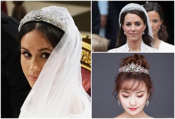 Coroa de noiva – 50 modelos lindos e como usar o acessório!