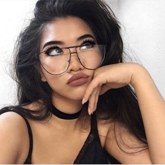 Dica de óculos diferente com design Tumblr