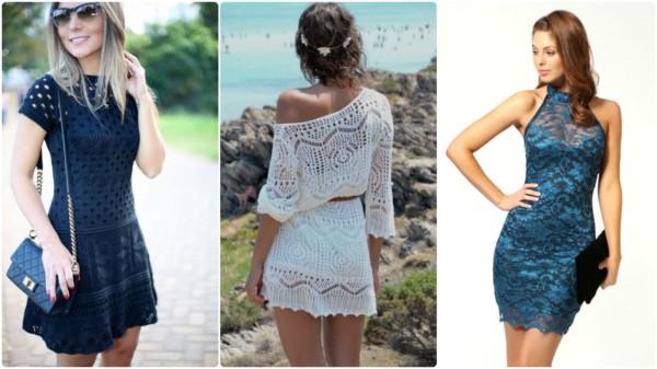 Diversos estilos de vestidos curtos 1