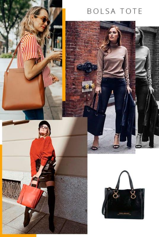 Fique mais estilosa com as bolsas tote