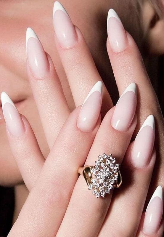 unhas para casamento