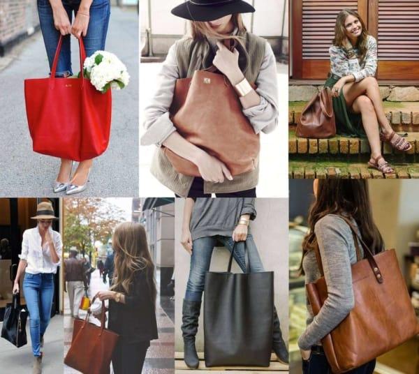 Ideias de bolsas tote super estilosas