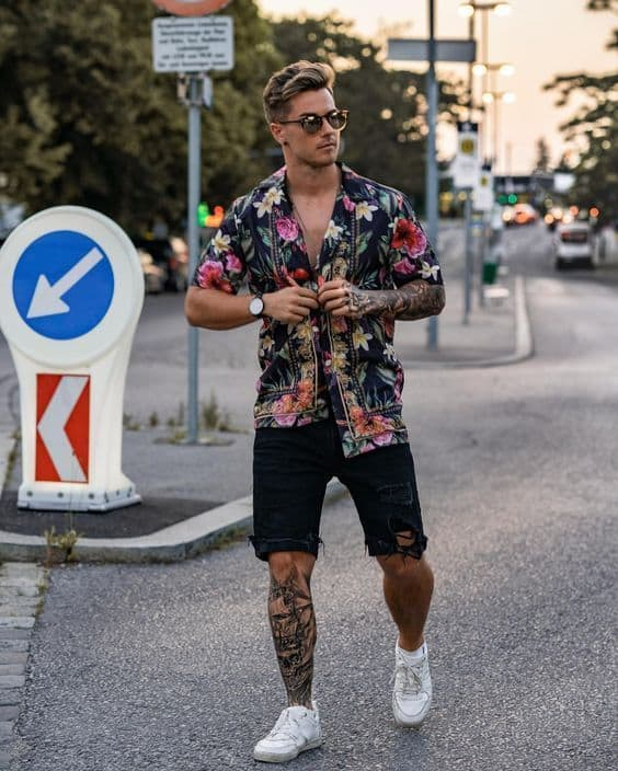 Look Rock in Rio masculino ideias