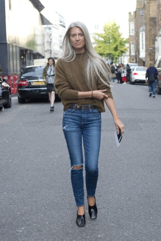 Look para dia ou noite com calça jeans skinny