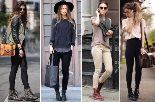 Looks alternativos usando botas