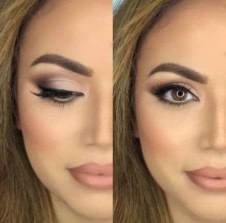Maquiagem para convidadas de casamento de dia