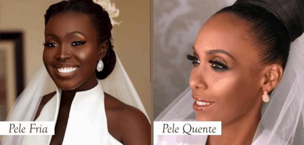 Maquiagem para pele morena e negra