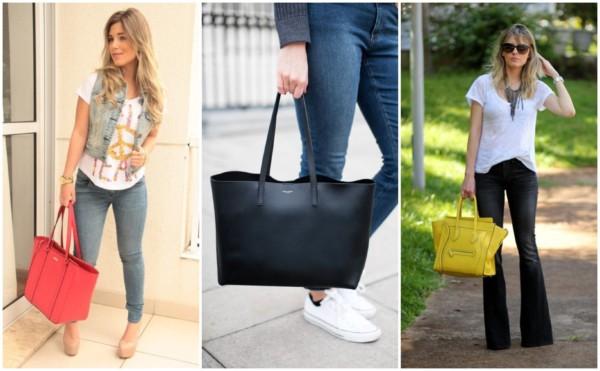 Modelos de bolsas tote 4