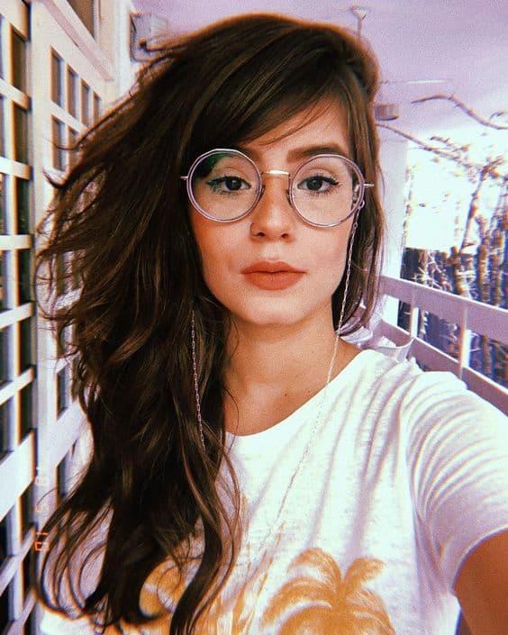 O óculos redondo é ícone do estilo Tumblr