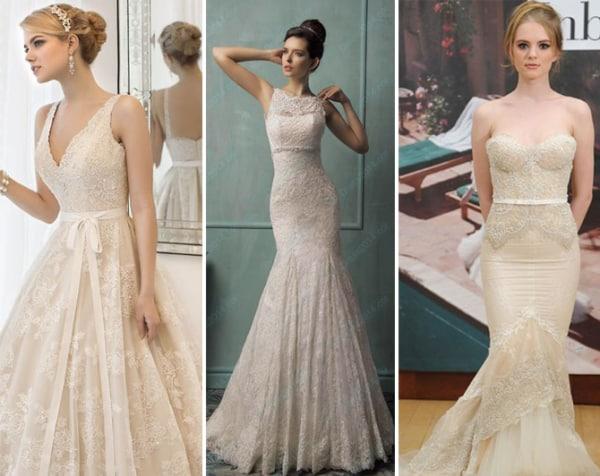 Olha só quantos modelos lindos off white para noivas