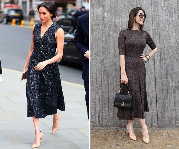 Os looks com modelos de vestidos midi ficam super elegantes