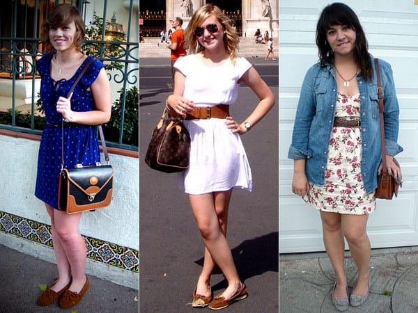 Três looks com vestidinhos fresquinhos e dockside