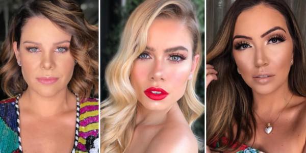 Três opções de maquiagem simples para casamento de dia