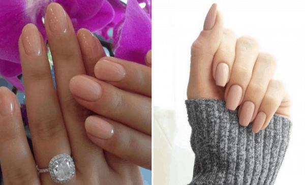 Unhas básicas clarinhas também fazem sucesso entre noivas