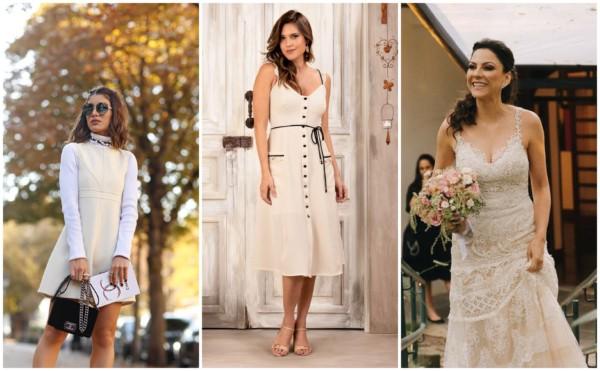Vestido off-white – 50 modelos lindos e românticos para você arrasar!