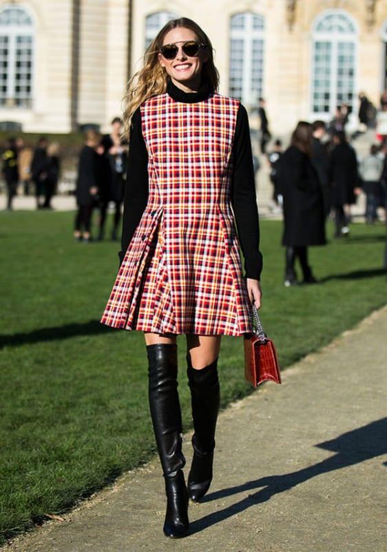 Vestido perfeito para looks de inverno