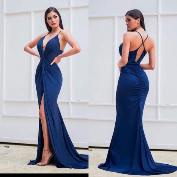 Vestido sereia bem sensual