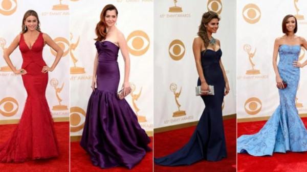 Modelos de vestidos sereias de vários estilos