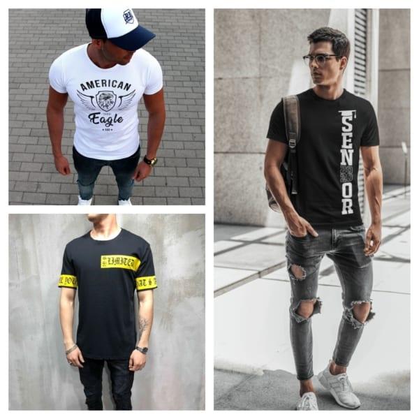 camiseta masculina estilosa
