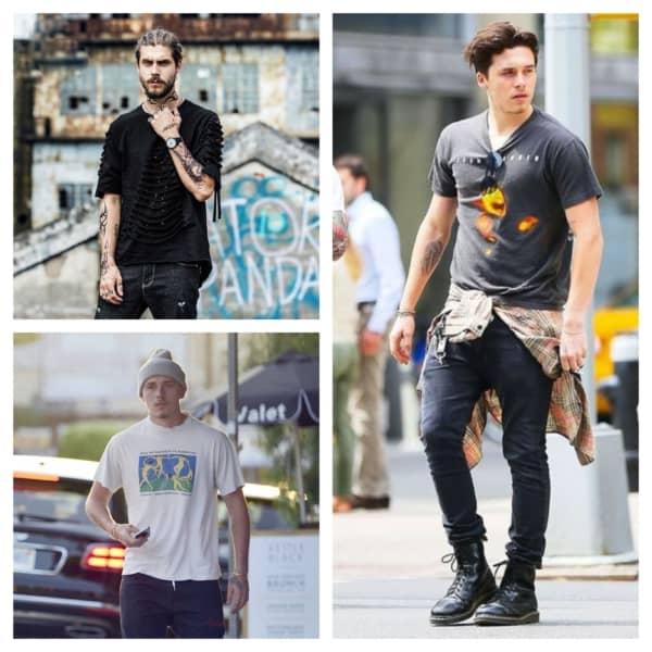 camisetas masculinas estilosas ideias