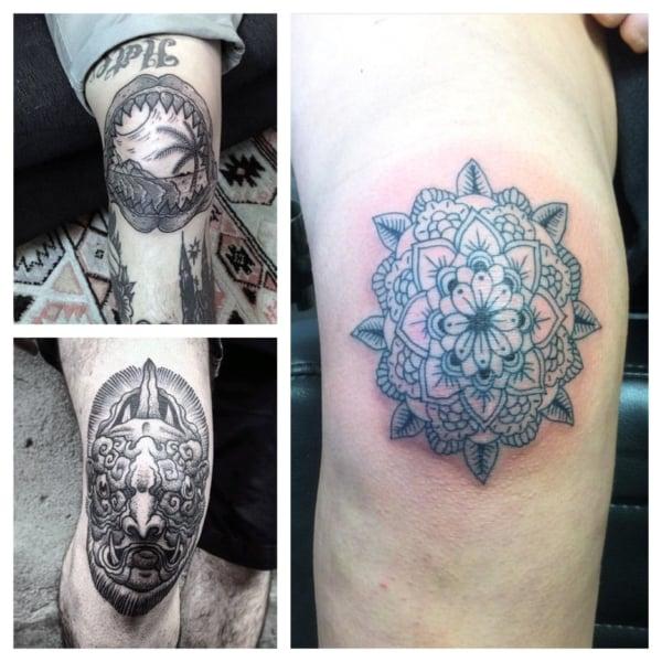 ideias de Tatuagens no Joelho
