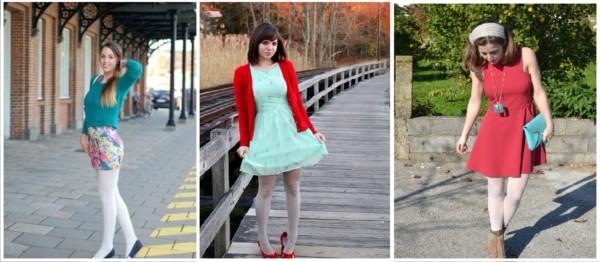 Looks com Meia Calça Branca – 25 Ideias de Como Usar a Sua!