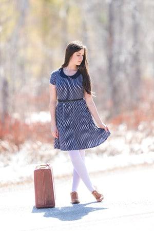 meia calça branca com vestido soltinho