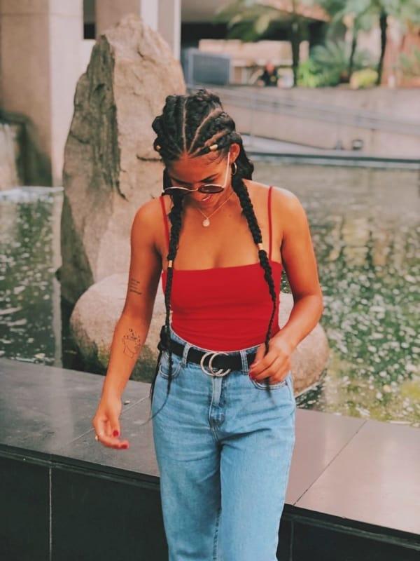 streetwear 80s feminino