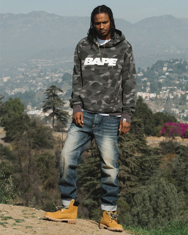 streetwear masculino bape jeans