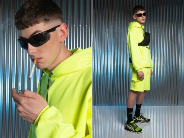 streetwear masculino com pochete