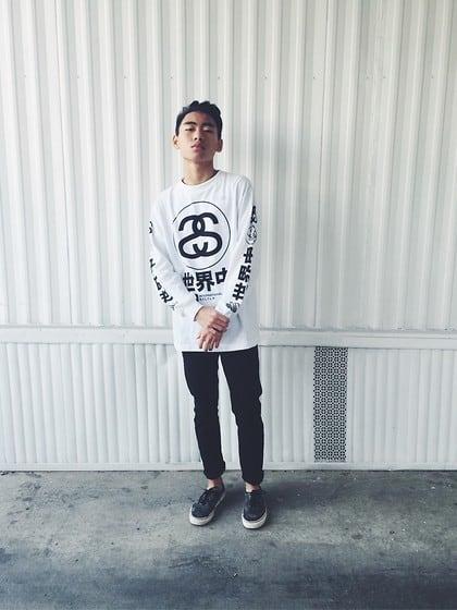 streetwear masculino stussy