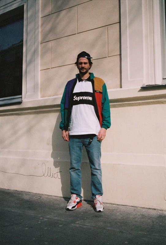 streetwear masculino supreme colorido