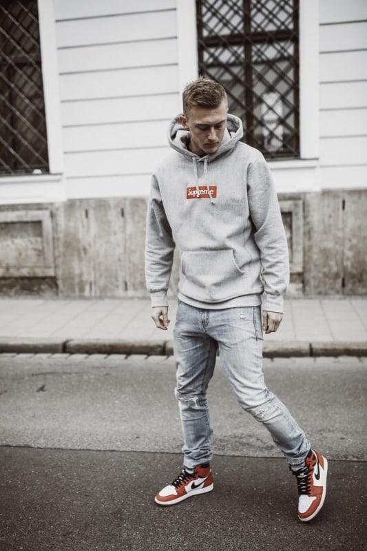 streetwear masculino supreme ideias