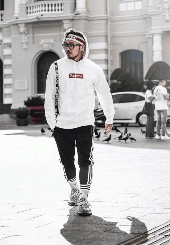 streetwear masculino supreme