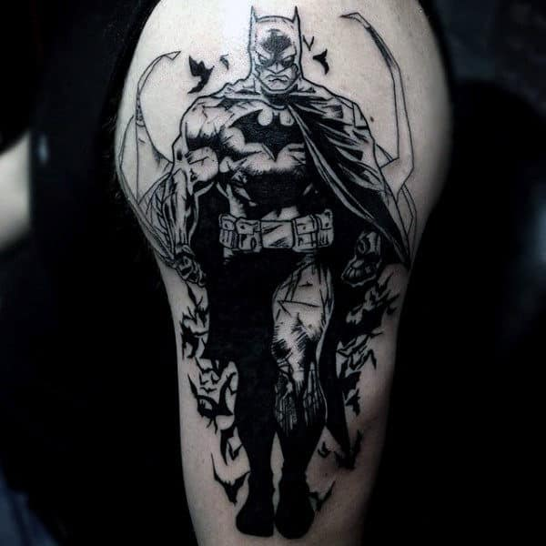 tattoo do batman no braço ideias