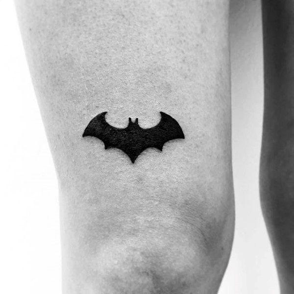 tatuagem Batman pequena