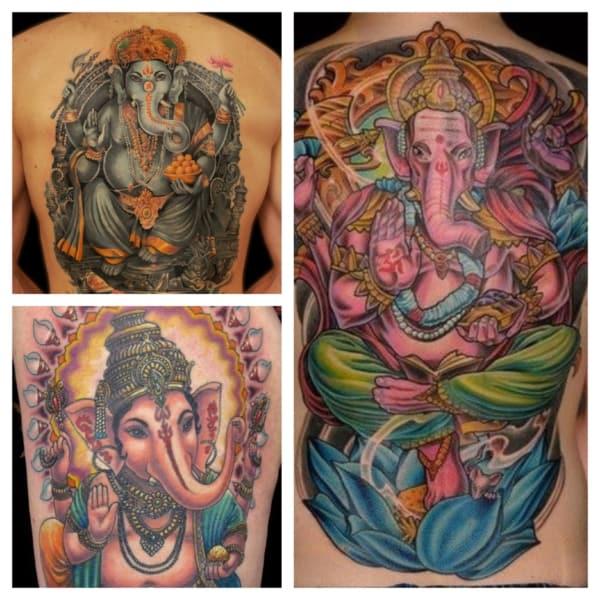 tatuagem Ganesha ideias