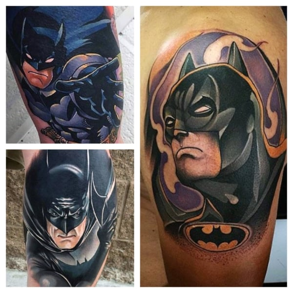 tatuagem do Batman