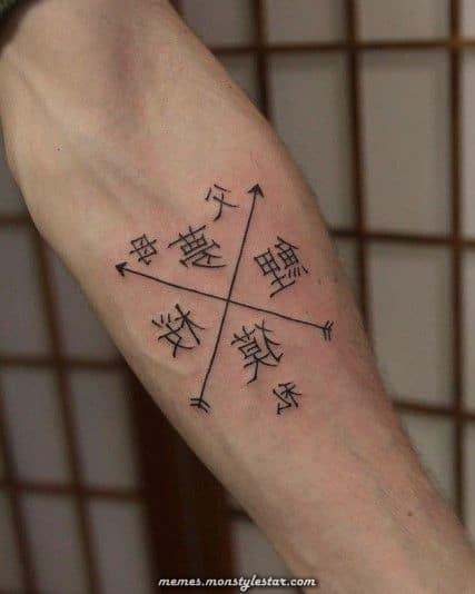 tatuagem em japonês ideias