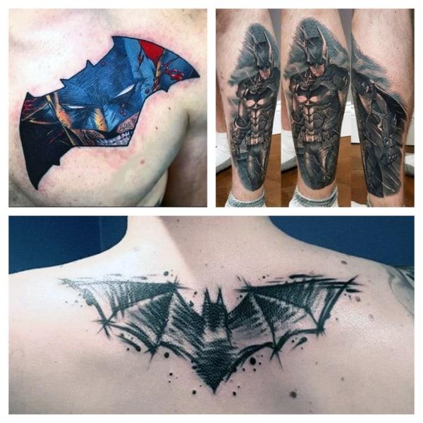 tatuagens do Batman ideias