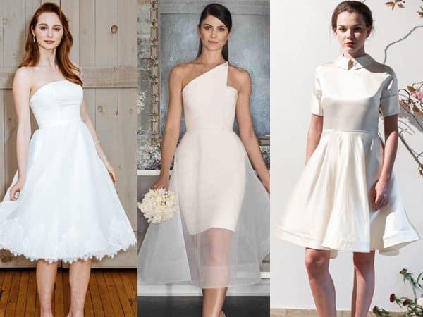 vestido de noiva curto simples 06