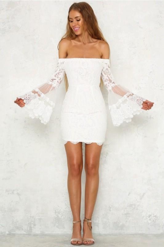 vestido de noiva curto simples 09
