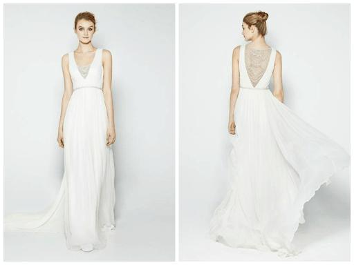 vestido de noiva elegante e simples 45